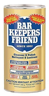 Bar Keepers Friend? Cleanser & Polish: 12 OZ