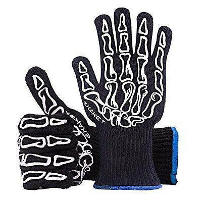 EXAKET Extreme Heat Resistant Gloves Protection Up to 932oF(500¡ãC)