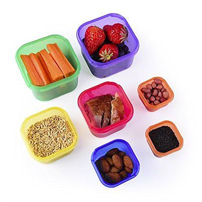 Portion Control Containers Kit with COMPLETE GUIDE by Efficient Nutrition
