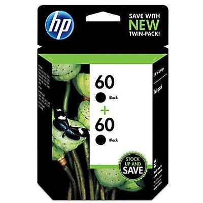 60 Black Original Ink Cartridges 2 pack (CZ071FN)