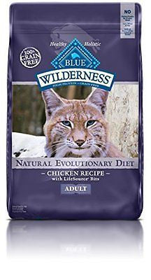Blue Buffalo Wilderness High Protein Dry Adult Cat Food
