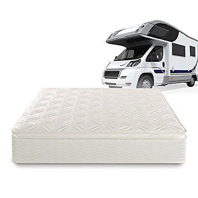 Sleep Master Deluxe Spring 10 Inch Pillow Top RV/Camper/Trailer/Truck Mattress