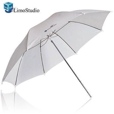 "LimoStudio 33"" White Transparent Photo Umbrella Studio Reflector, AGG124"