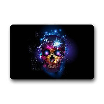 "CozyBath Sugar Skull Non-woven Fabric 23.6""(L) x 15.7""(W)Machine-washable"