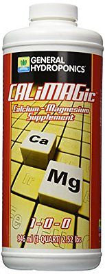 General Hydroponics CaliMagic for Gardening 1-Quart