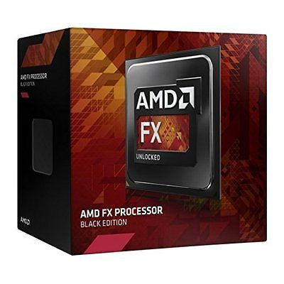 AMD FX-8370 Black Edition 8 Core CPU Processor AM3+ 4300Mhz 125W 16MB