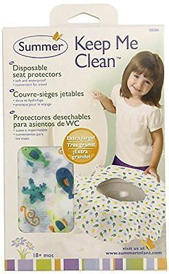 Summer Infant Keep Me Clean Disposable Potty Protectors, - 45 Count