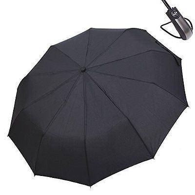 FlyHawk Leisure Style Umbrella, Automatic Open/Close Foldable Rain Umbrella/UV