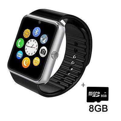 Bluetooth SmartWatch with HD Display SIM/TF Card Slo for Android Smartphones