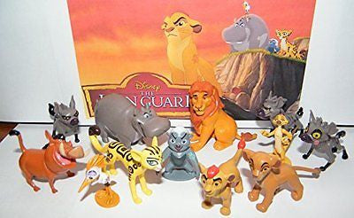 Disney The Lion Guard Deluxe Party Favors Goody Bag Fillers Set of 13 Figures