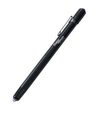Streamlight 65069 Stylus 6-1/4-Inch Penlight with Pocket Clip and UV LED, Black