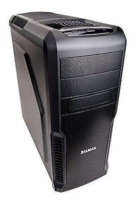 Zalman ATX Mid Tower Computer Case with Three 120mm Fan Case Z3 (Black)