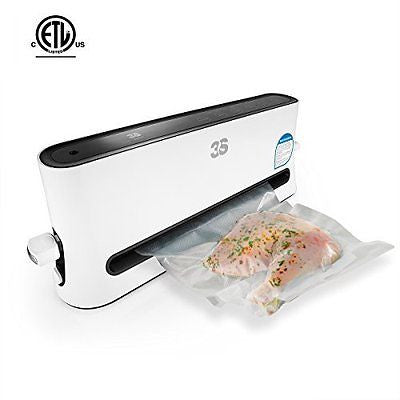 Vacuum Sealer 3S Vacuum Seal Machine for Dry / Moist Food Preservation