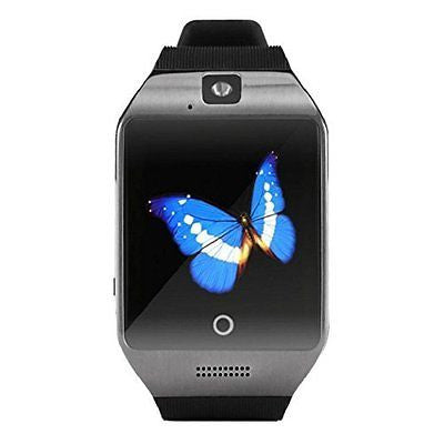 Fullfun Q18S Ver 3.0 Smart Bluetooth Watch GSM Camera TF Card Black,Gold,Silver