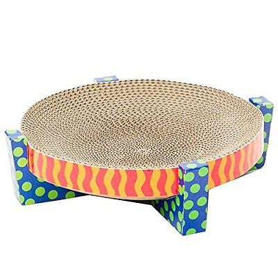 Petstages 394 Easy Life Scratch, Snuggle and Rest Cat Scratcher and Rest