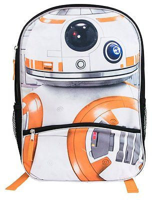 Star Wars Episode 7 BB-8 Backpack with Front Pencil Pocket