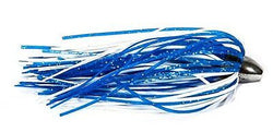 Boone Duster Lures (Pack of 3), Blue/White