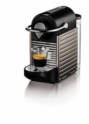 Nespresso Pixie Espresso Maker Electric Titan