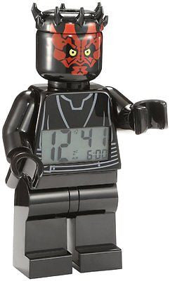 9005596 Star Wars Darth Maul Minifigure Clock