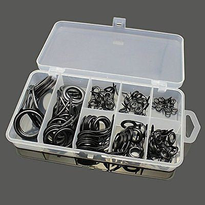 Spinning Rod Guides Spare Parts Repair and Tips Top (75pcs/ 1 Box)