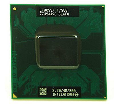 Intel Core 2 Duo T7500 4MB Mobile CPU Processor Socket P 478-pin SLAF8 SLA44