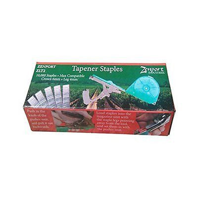 Zenport ZLT2 ZEN/MAX Box of Tapener Staples, 10000-Count