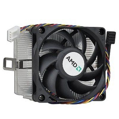 "AMD Socket AM3/AM2+/AM2/1207/939/940/754 Heat Sink 2.75"" Fan w/4-Pin Connector"