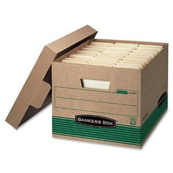 Bankers Box Stor/File 100% Recycled Extra Strength Storage Boxes, Letter/Legal