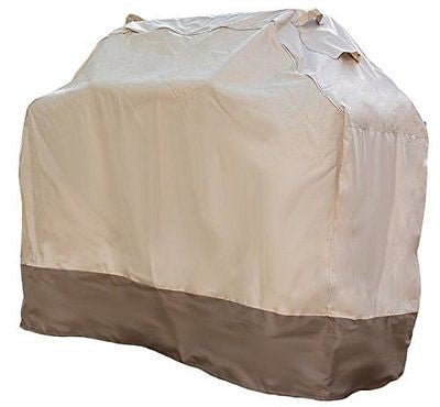 "Grill Cover - Waterproof Heavy Duty Gas Barbecue Cover (Large 64"" x 24"" x 48"")"