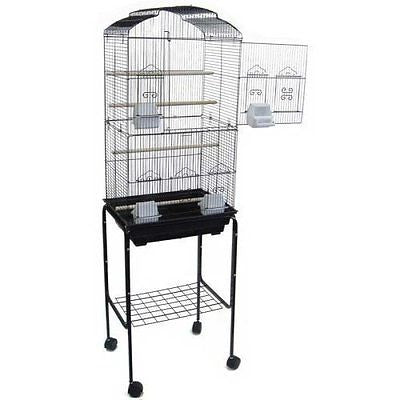 "Canary Parakeet Cockatiel LoveBird Finch Bird Cages --18""x14""x60"" With Stand"