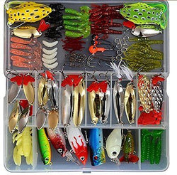 129pcs Fishing Lure Set