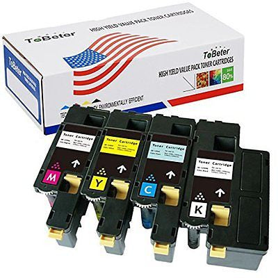 ToBeter? Compatible Dell E525W High Yield Value Pack Toner Cartridges