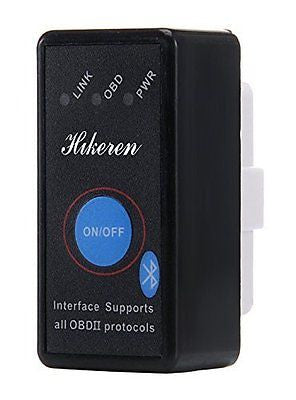 OBD2,Hikeren**Mini Bluetooth OBD2** with POWER SWITCH,OBD-II(V1.5) Automotive