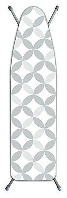 Laundry Solutions by Westex Deluxe Extra Thick Geo Tonal Circles Ironing Board