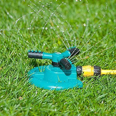 MyGarden Lawn Water Sprinkler - Adjustable 360¡ã Rotation for Watering Plants