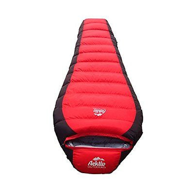 Best Mummy Sleeping Bag - Aektiv Outdoor 15 Degree Down Mummy Sleeping Bag