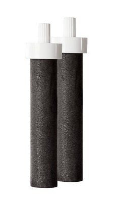 Water Filter Bottle Replacement Filters, 2 Count
