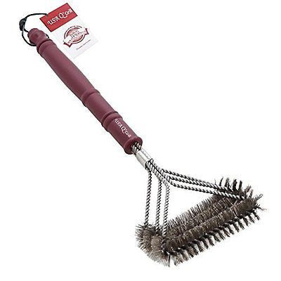 USA Q'Grill BBQ Grill Brush Cleaner - Best High Quality Barbecue Cleaning Tool