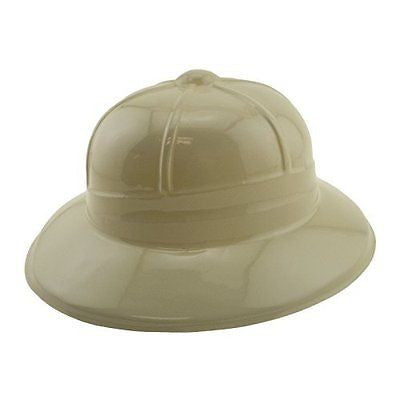 Soft Plastic Tan Childs Jungle Safari Pith Sun Hat