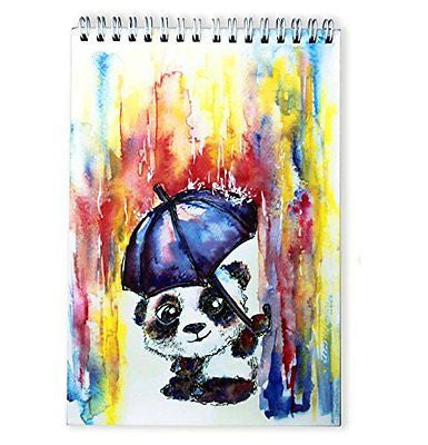 #1 BEST Sketchbook for Kids by TravelArt ? - Creative Panda Artwork, Acid Free