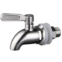 1 X Stainless WorksTM Stainless Steel Beverage Dispenser Replacement Spigot