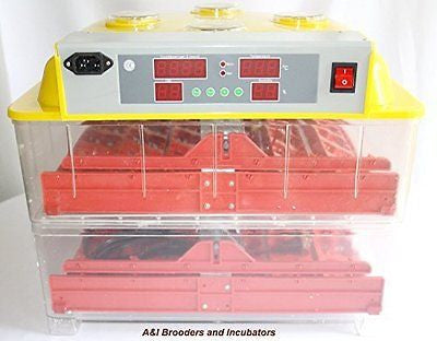 A&I - 288 Quail Egg Digital Incubator / Hatcher AUTOMATIC TURNER Avian Poultry L
