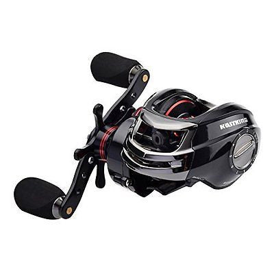High Speed (7.0 :1) Low Profile Baitcasting Fishing Reel - Dual Brake System