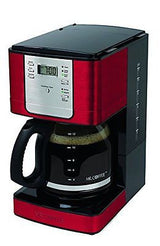 Mr. Coffee JWX36-NP Advanced Brew 12 Cup Programmable Coffee Maker Red