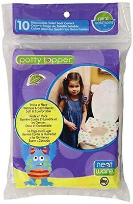 Neat Solutions Neat-Ware Potty Topper, 40-Count