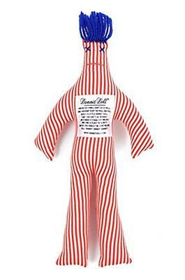 Dammit Doll - Classic Dammit Doll - Canne A Sucre - Red & White Bias Stripe