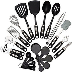 22-piece Kitchen Utensils Sets Home Cooking Tools Stainless Steel Nylon Gadgets