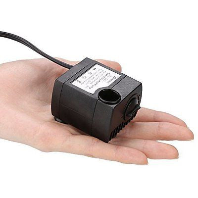 Homdox 80GPH Submersible Fountain Pump for Aquarium Pool Garden Mini Water Pump