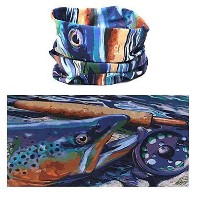 Maxcatch UV Fish Headband Fly Fishing Scarf Bandana
