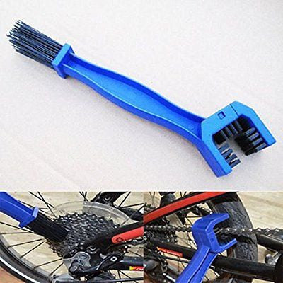 NIANPU Bicycle Chain Clean Crankset Brush Cleaning 2 in1 Cleaner Scrubber Tools